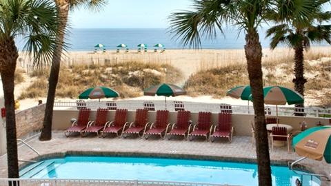 DeSoto Beach Hotel Oceanfront