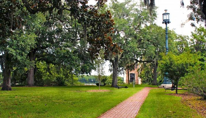 Emmet Park in Savannah