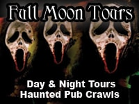 Full Moon Tours | Haunted Savannah Pub Crawls