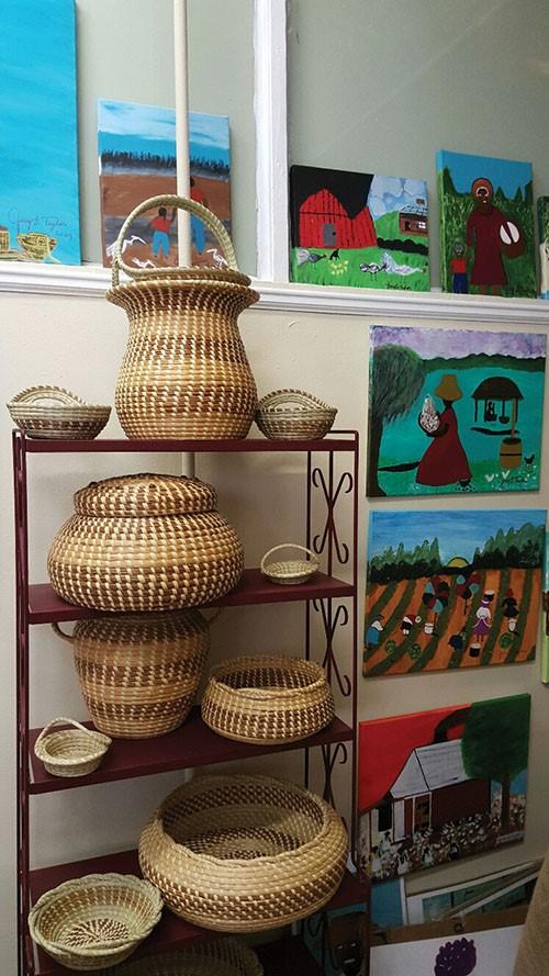 Jery's Baskets, baskets and folk art