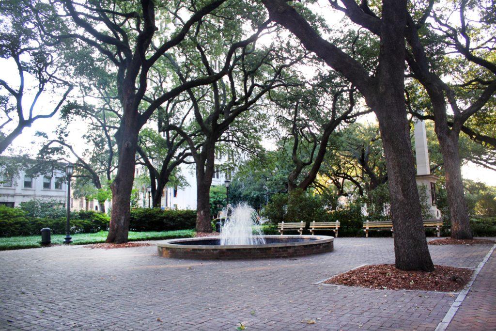Johnson Square Fountain