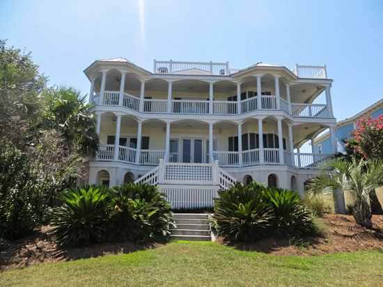 Incroyable Mansion On The Hill Oceanfront Cottage Als Tybee Vacation Al With Oceanview One