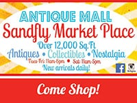 Sandfly Market Place Antique Mall | Coupon