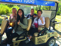Savannah Cruzers | Golf Cart Tours at Bonaventure Cemetery