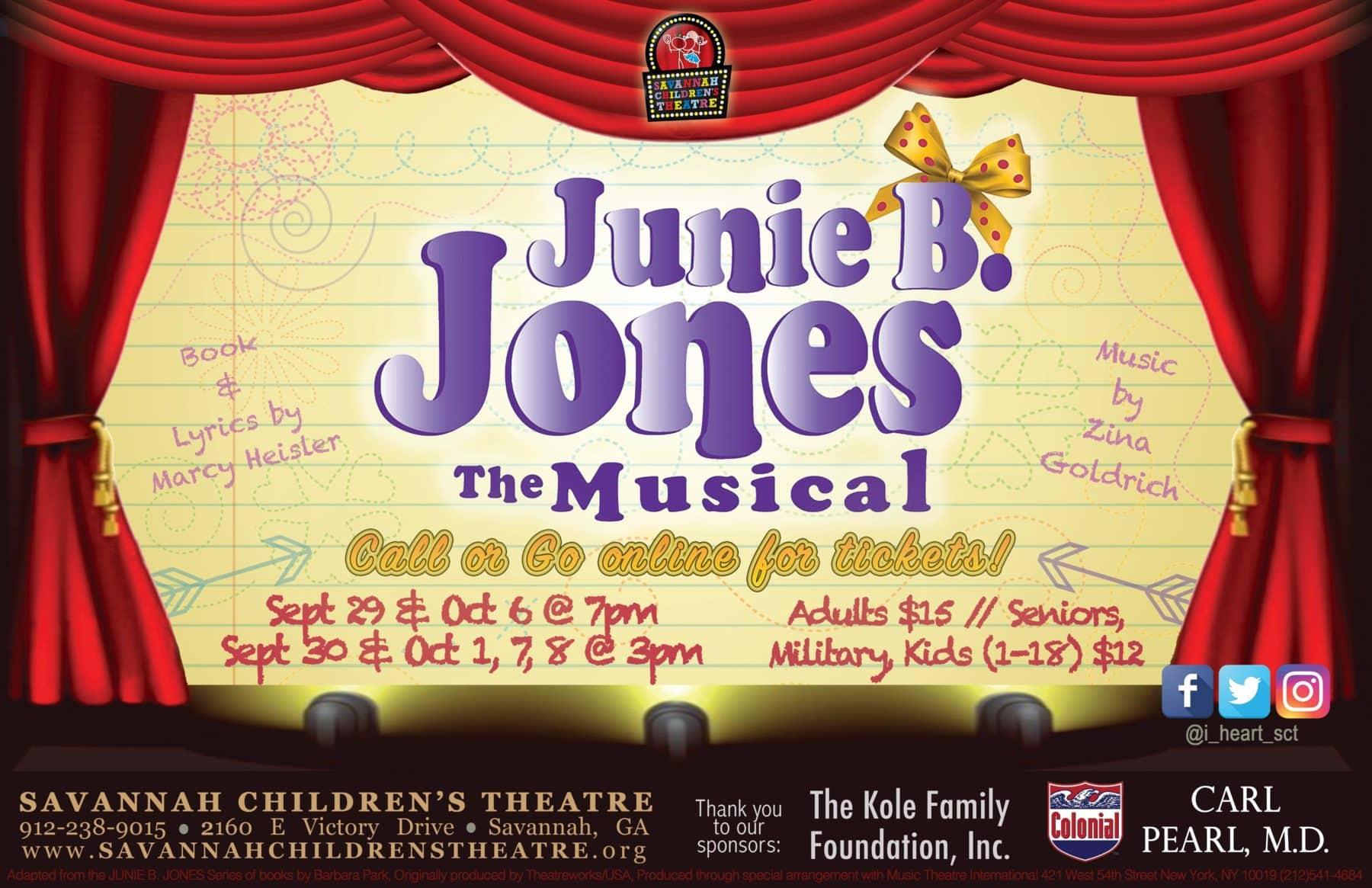 Junie B  Jones the Musical