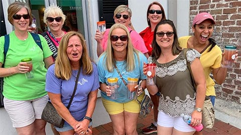 Sip N' Shop Savannah Tours