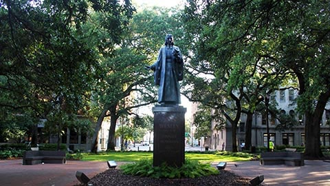 Haunted Squares in Savannah