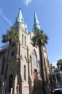 Wesley Monumental United Methodist Church in Savannah