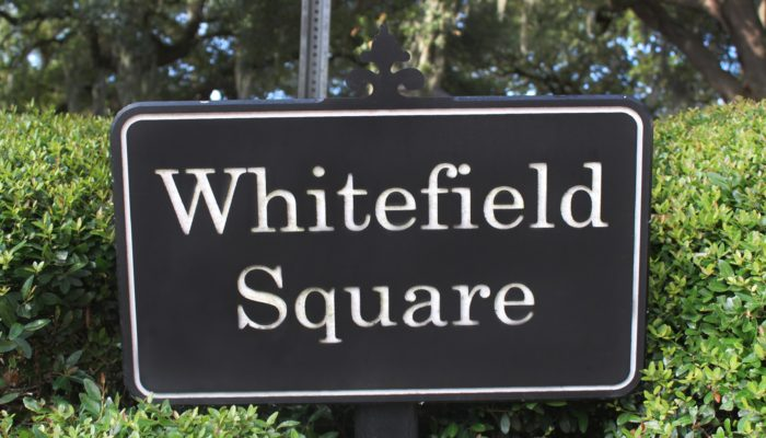 Whitefield Square Sign